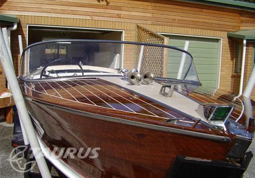 Classic 1968 timber boat