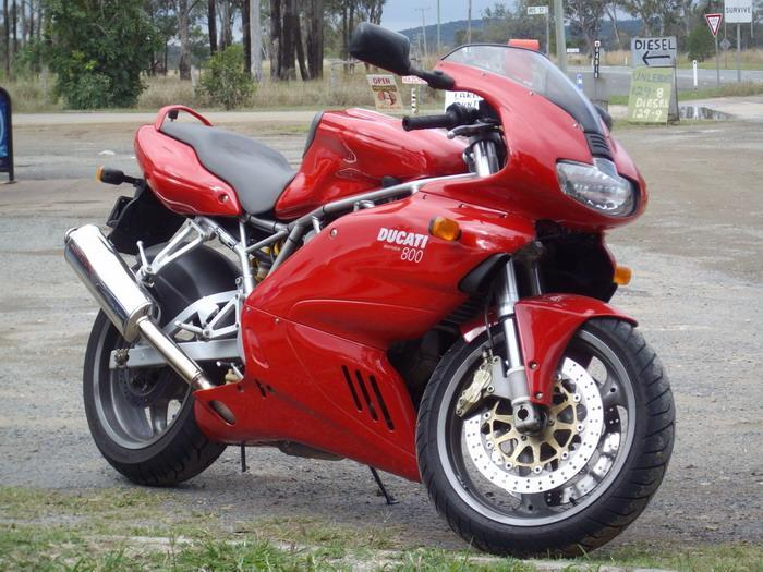 Ducati bike shiped to Wellington